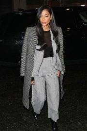 Nicole Scherzinger - Arriving at Rylan Clark Karaoke Challenge in London