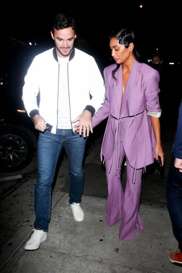 Nicole Scherzinger - Arriving for dinner at Craig's in West Hollywood