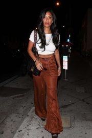 Nicole Scherzinger - Arriving to Catch Restaurant in Los Angeles