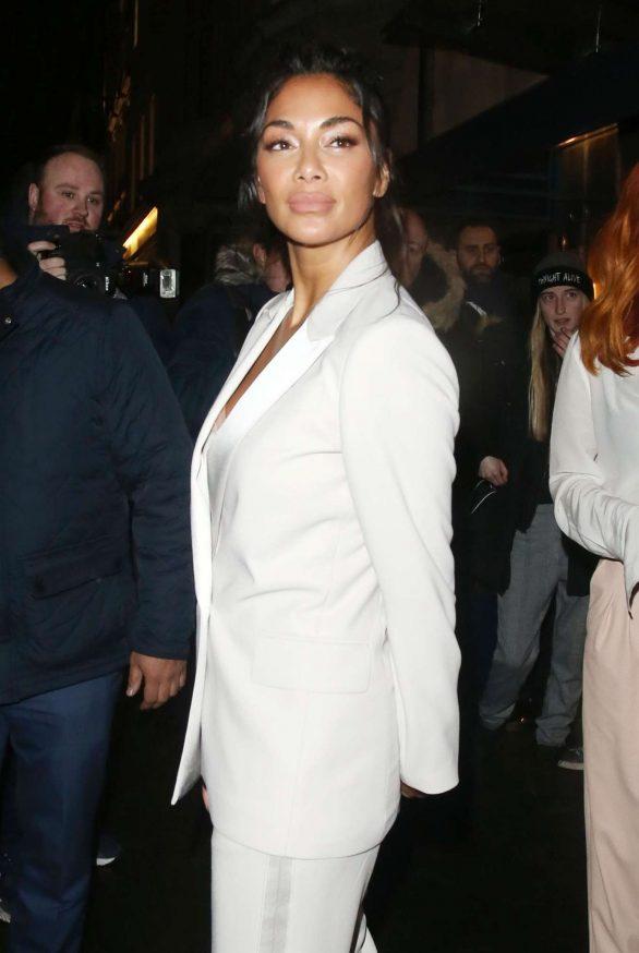 Nicole Scherzinger at Bagatelle restaurant in Mayfair