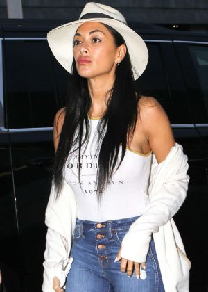 Nicole Scherzinger at LAX International Airport in LA