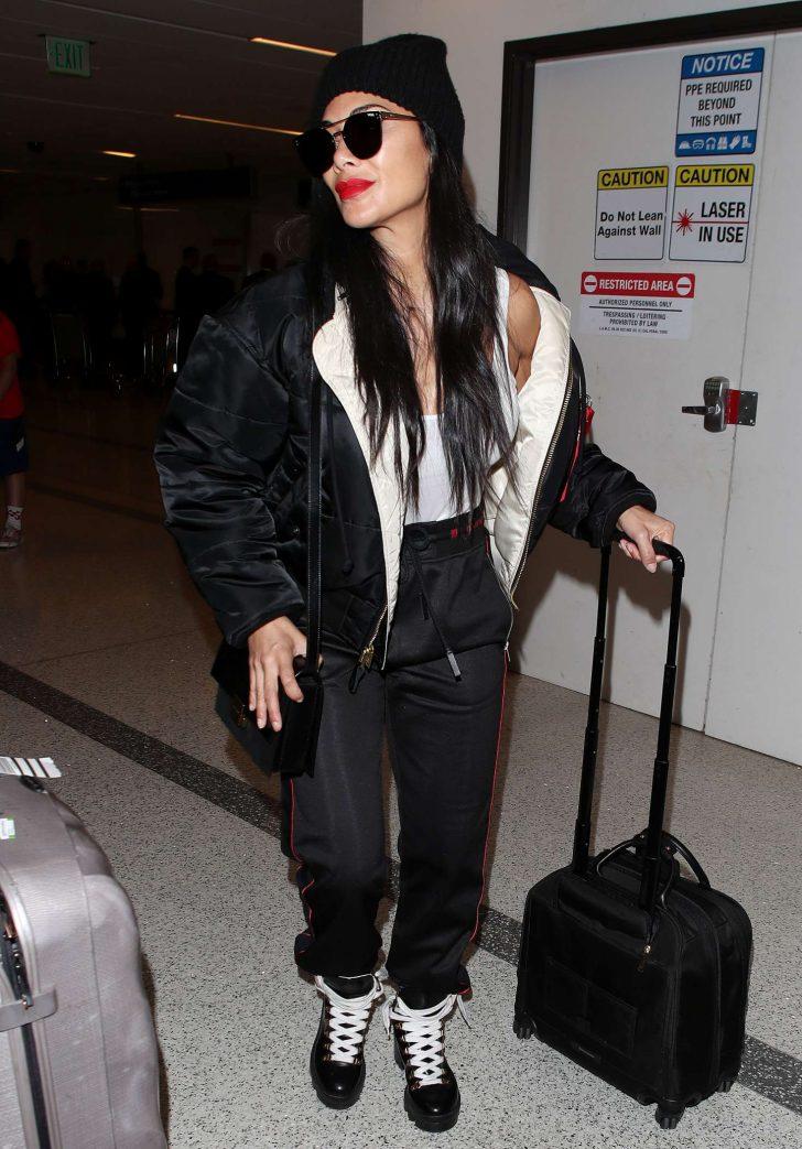 Nicole Scherzinger at Los Angeles International Airport -04