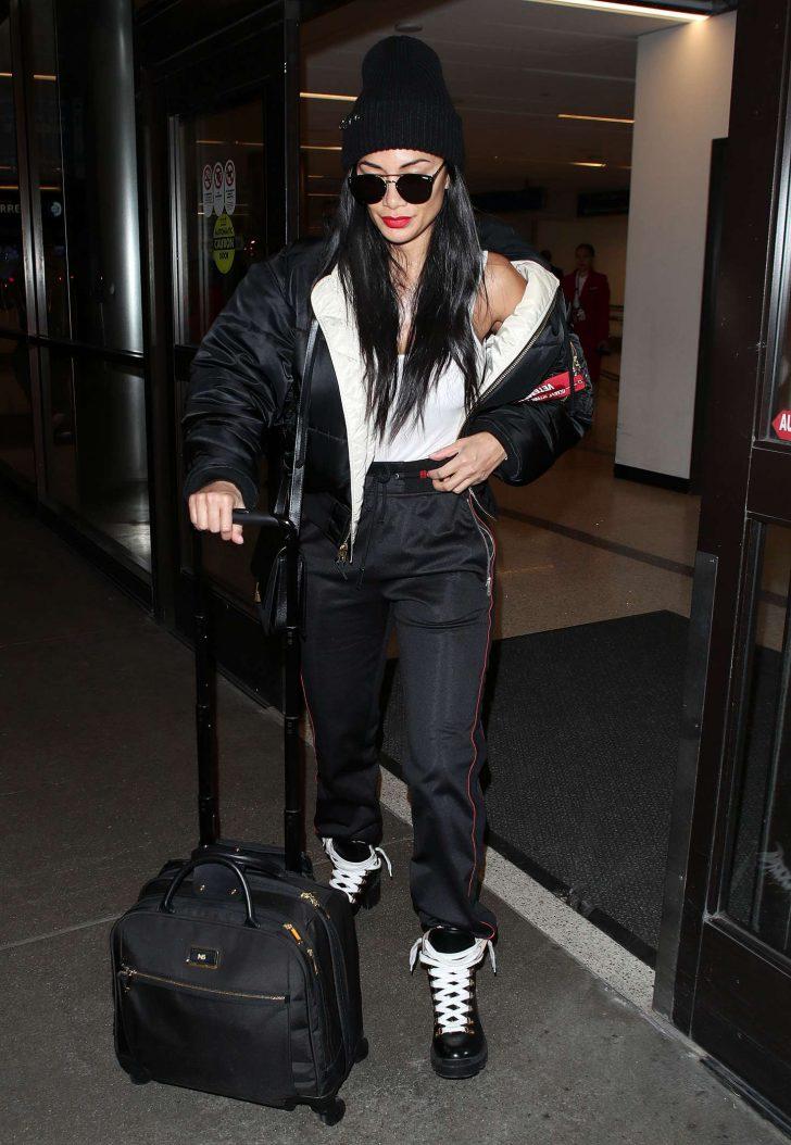 Nicole Scherzinger at Los Angeles International Airport -05