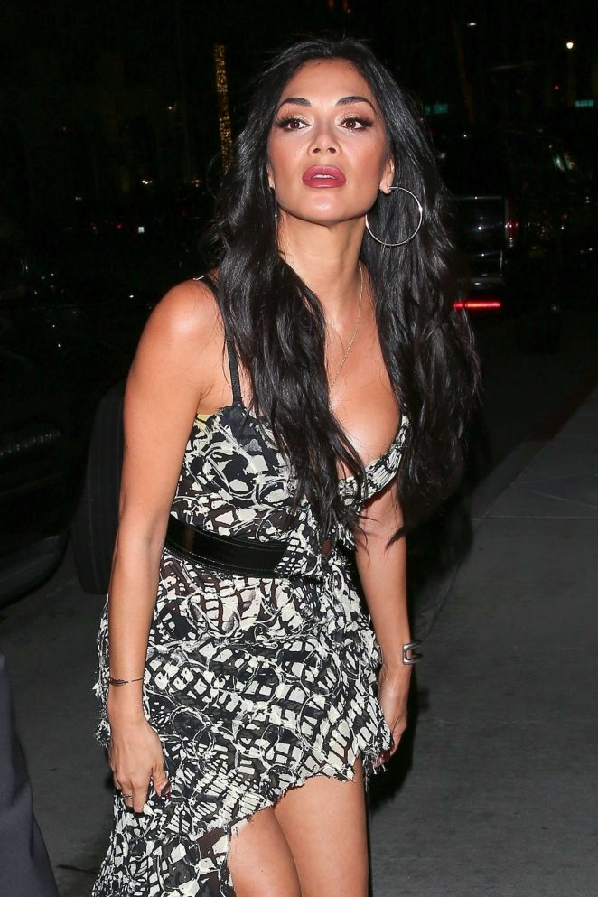 Nicole Scherzinger at The Avra Restaurant opening in Beverly Hills