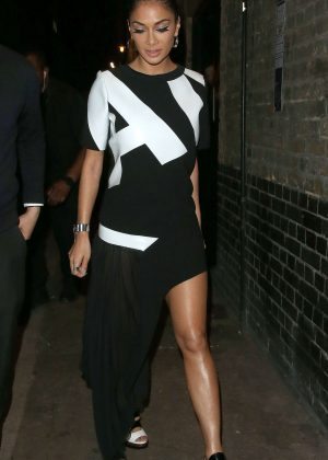 Nicole Scherzinger at The Chiltern Firehouse in London