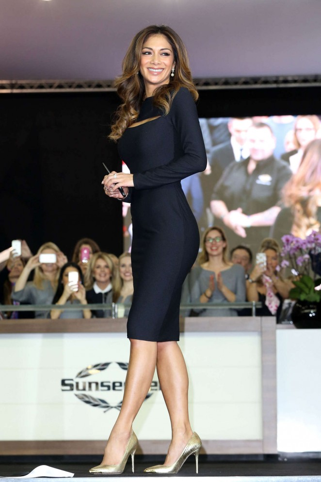 Nicole Scherzinger at the London Boat Show at ExCel in London