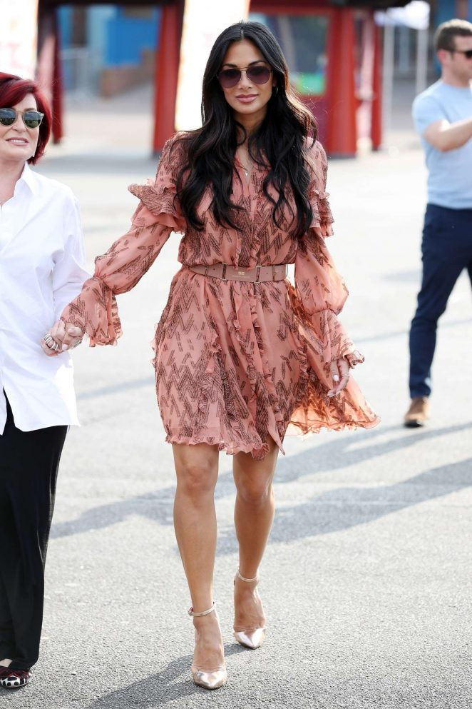 Nicole Scherzinger at The X Factor Auditions in Surrey