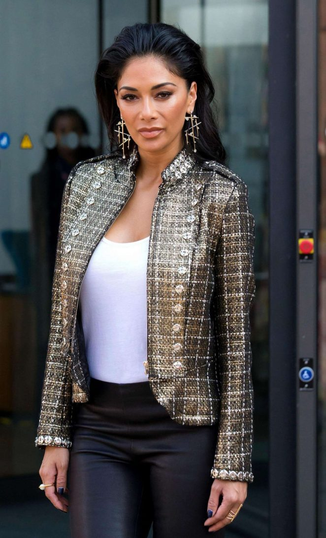 Nicole Scherzinger at X Factor Auditions in Liverpool