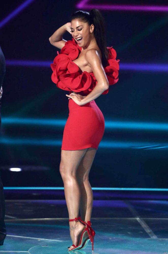 Nicole Scherzinger at X Factor Gathering in London