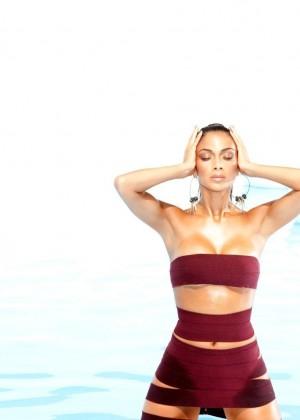 Nicole Scherzinger: Bandages Photoshoot 2015 -01