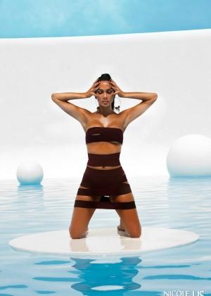 Nicole Scherzinger: Bandages Photoshoot 2015 -02