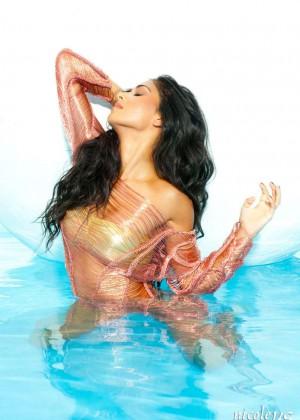 Nicole Scherzinger: Bandages Photoshoot 2015 -04