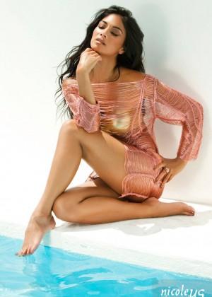 Nicole Scherzinger: Bandages Photoshoot 2015 -11