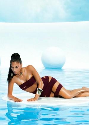 Nicole Scherzinger: Bandages Photoshoot 2015 -22