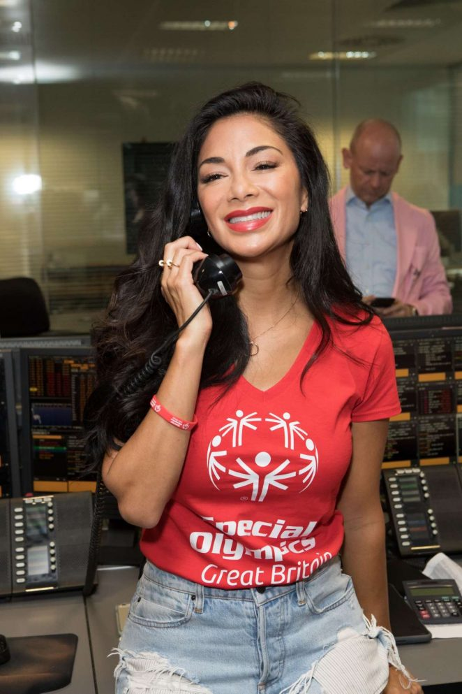 Nicole Scherzinger - BBC Annual Global Charity Day in London
