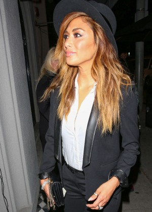 Nicole Scherzinger - Craig's Restaurant in West Hollywood