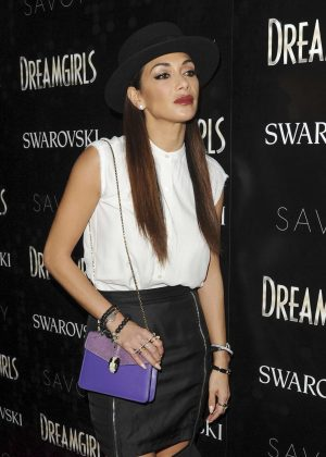 Nicole Scherzinger - Dreamgirls Press Night in London