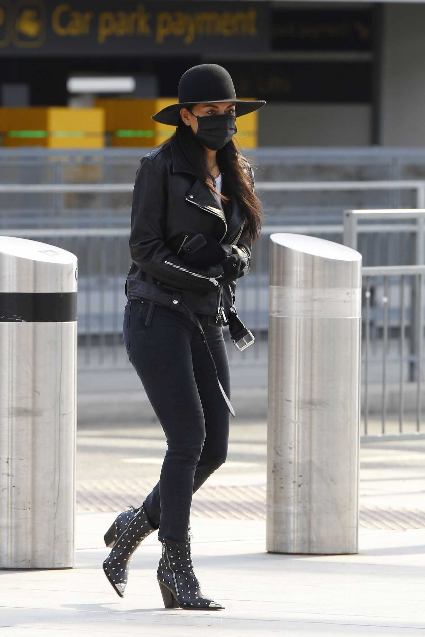 Nicole Scherzinger 2020 : Nicole Scherzinger – Flying out of Heathrow Airport-04