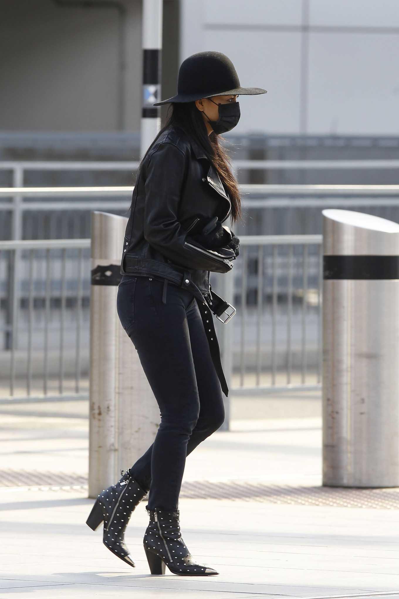 Nicole Scherzinger 2020 : Nicole Scherzinger – Flying out of Heathrow Airport-12