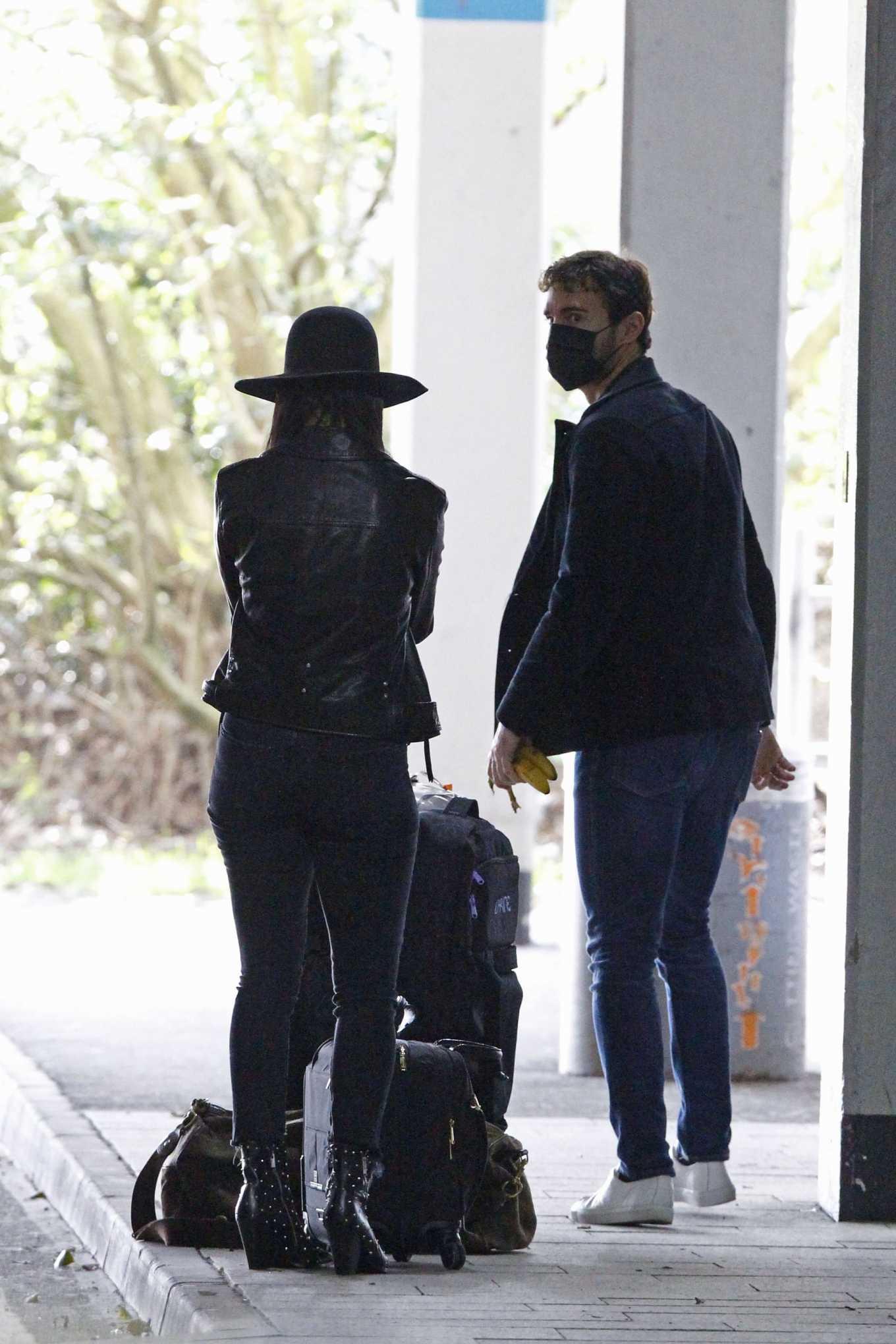 Nicole Scherzinger 2020 : Nicole Scherzinger – Flying out of Heathrow Airport-13