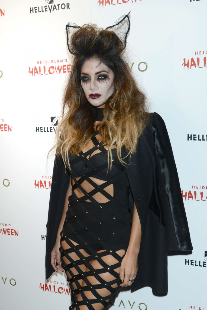 Nicole Scherzinger - Heidi Klum Halloween Party 2015 in NY