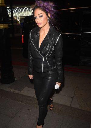 Nicole Scherzinger in Leather -01 - GotCeleb  Nicole Scherzinger