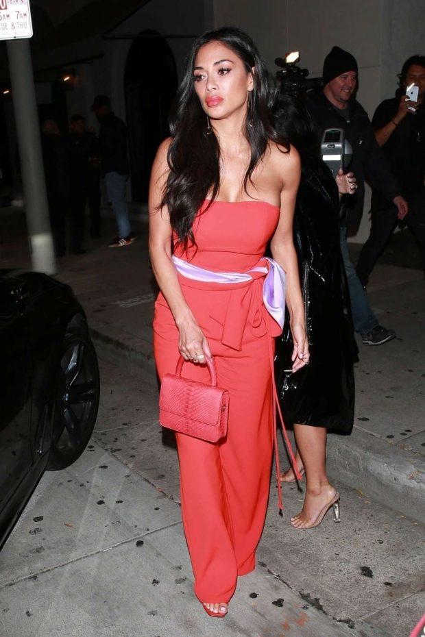 Nicole Scherzinger in Red -03