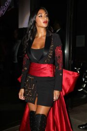 Nicole Scherzinger - Jeremy Scott fashion show in New York