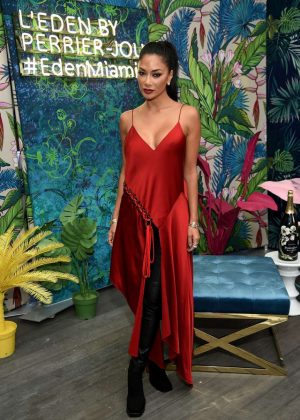 Nicole Scherzinger - Launch Of CR WOMEN 2019 in Miami
