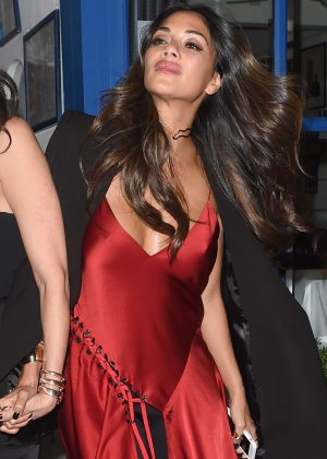 Nicole Scherzinger Laving Simon Cowells birthday party in Chelsea