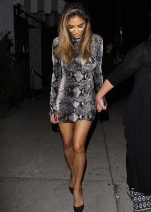 Nicole Scherzinger - Le Jardin Nightclub in Hollywood
