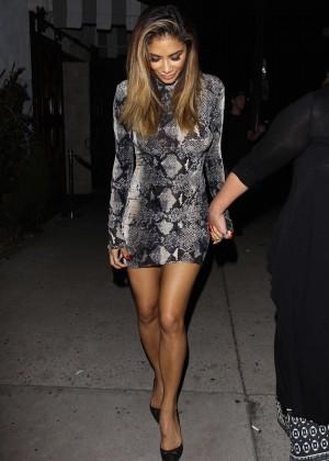 Nicole Scherzinger - Le Jardin Nightclub in Hollywood