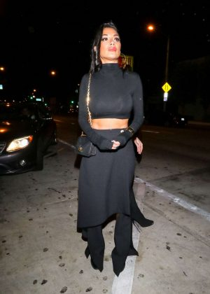 Nicole Scherzinger - Leaving Catch Restaurant in Los Angeles