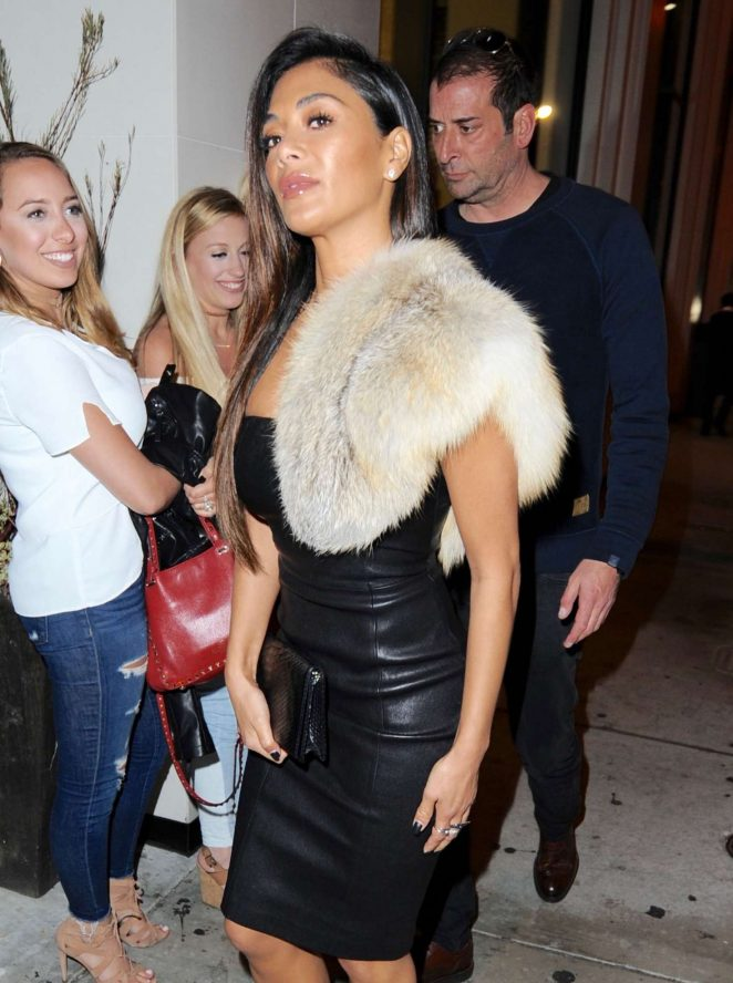 Nicole Scherzinger Leaving Catch Restaurant in West Hollywood