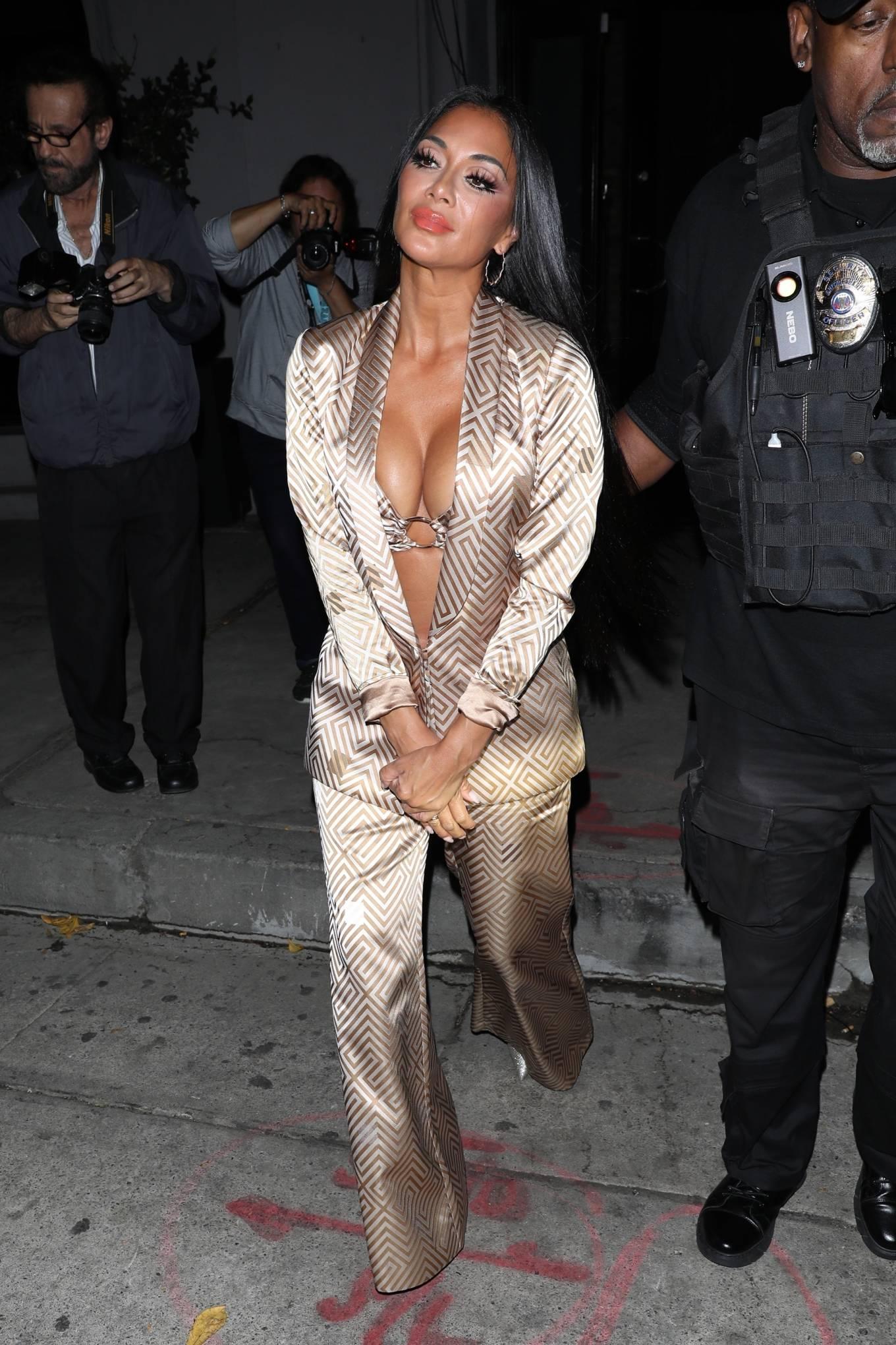 Nicole Scherzinger - Leaving Craig's in West Hollywood