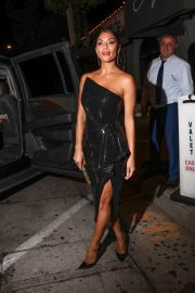 Nicole Scherzinger - Leaving Craig's restaurant in West Hollywood