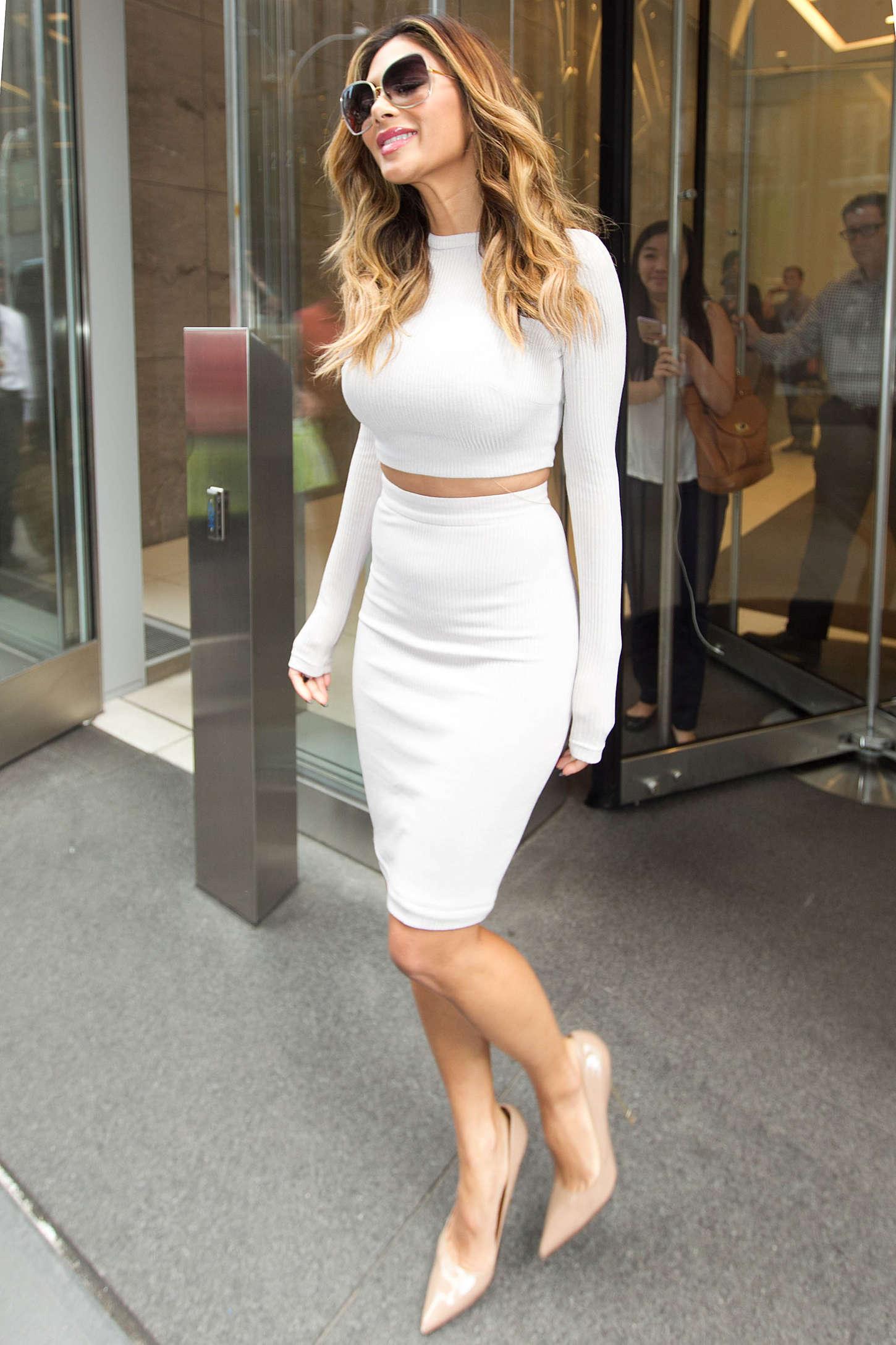 Nicole Scherzinger 2015 : Nicole Scherzinger: Leaving SiriusXM Studios -13
