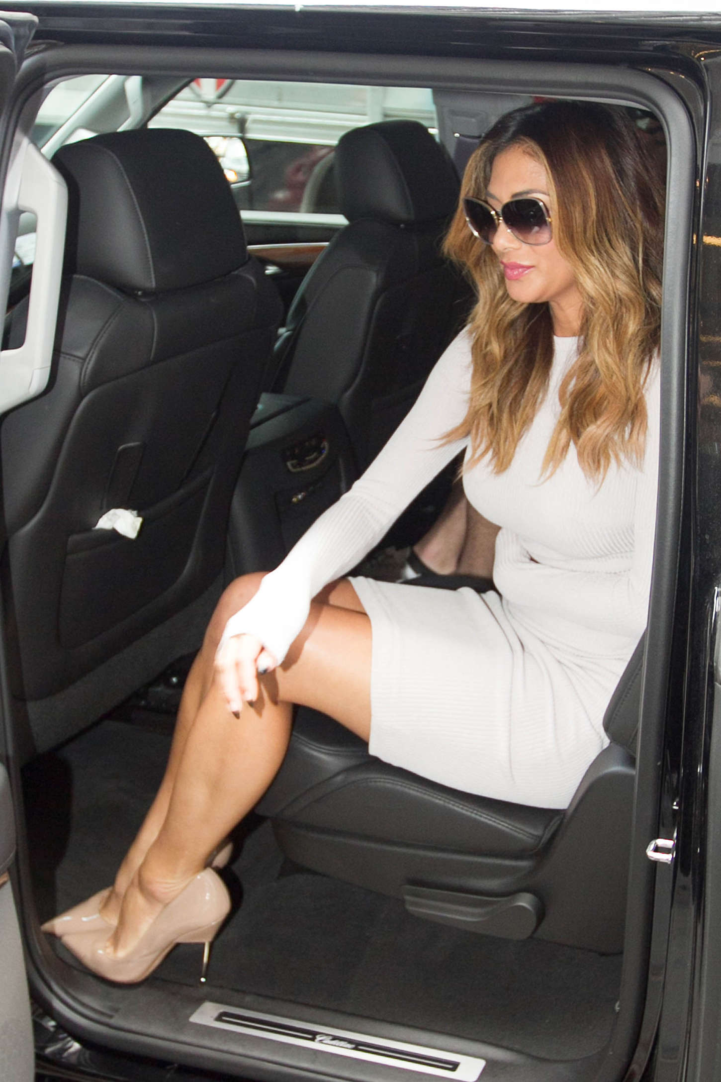 Nicole Scherzinger 2015 : Nicole Scherzinger: Leaving SiriusXM Studios -16