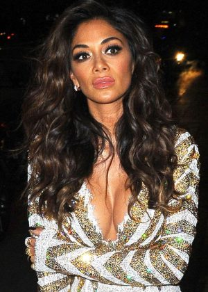 Nicole Scherzinger - Leaving The Grovesnor in London