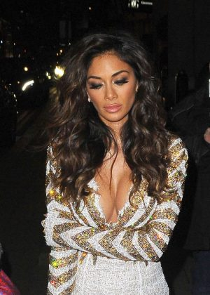 Nicole Scherzinger – Leaving The Grovesnor in London