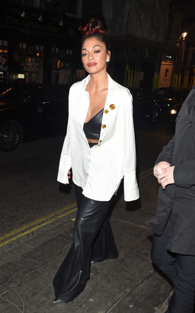 Nicole Scherzinger - Leaving the Paper nightclub in London