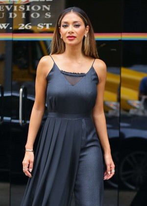 Nicole Scherzinger - Leaving 'The Wendy Williams Show' in NYC
