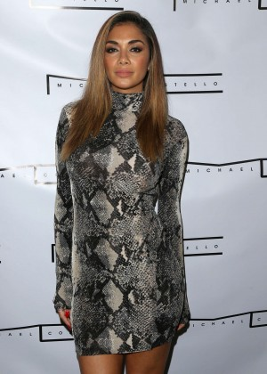 Nicole Scherzinger - Michael Costello Capsule Collection Launch Party in LA