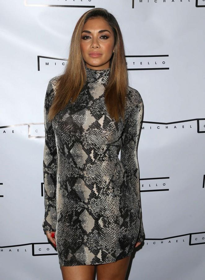 Nicole Scherzinger - Michael Costello Capsule Collection Launch Party in LA