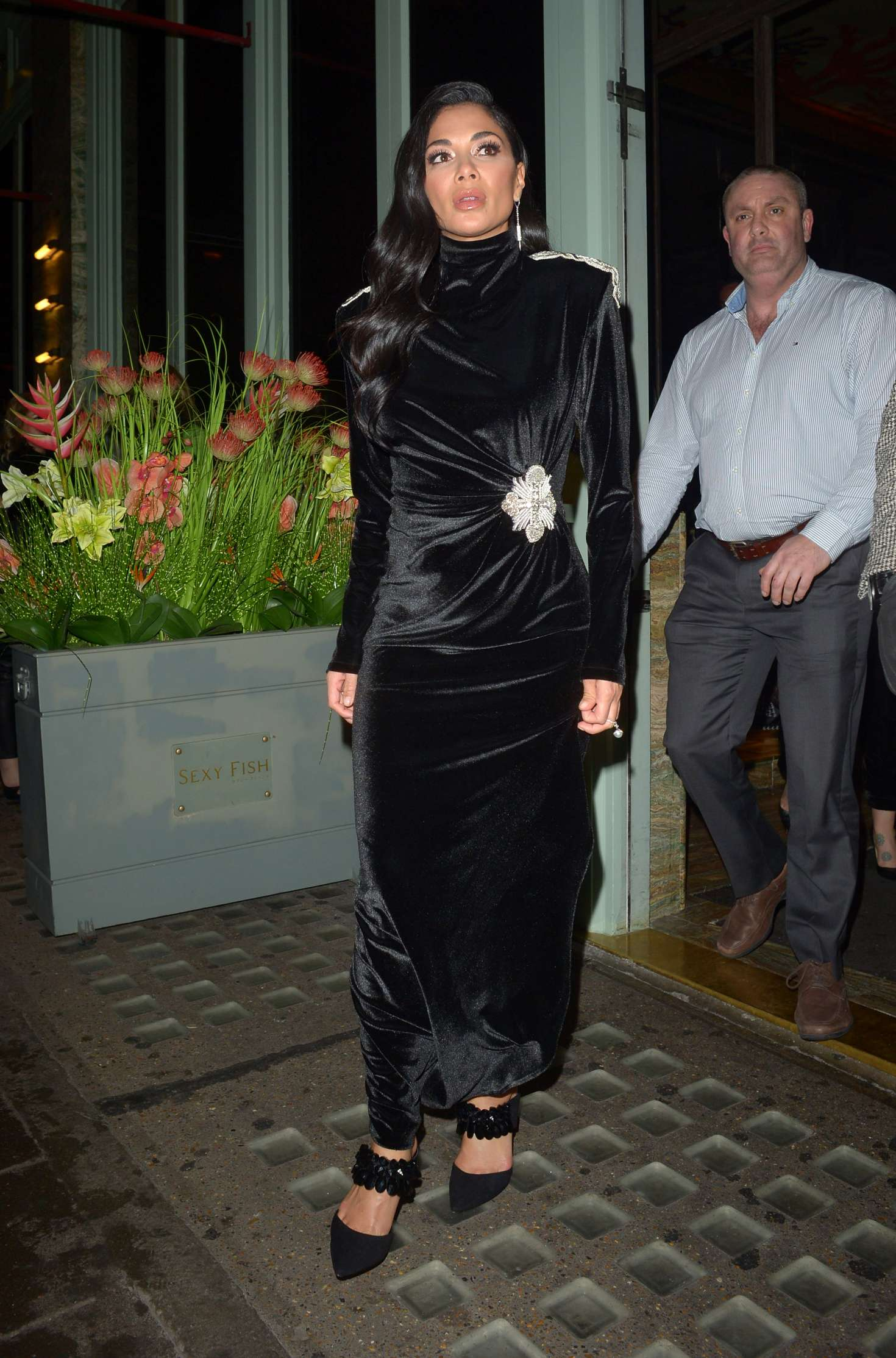 Nicole Scherzinger - Night out at Sexy Fish Restaurant in Mayfair
