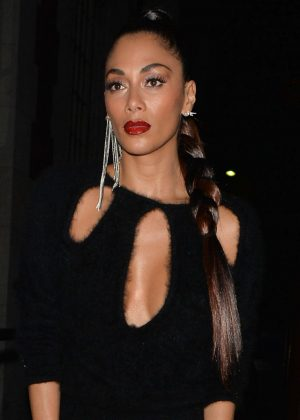 Nicole Scherzinger Night Out in Mayfair -03