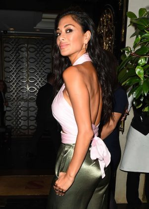 Nicole Scherzinger night out in Mayfair