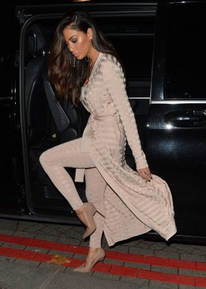 Nicole Scherzinger out and about in Mayfair
