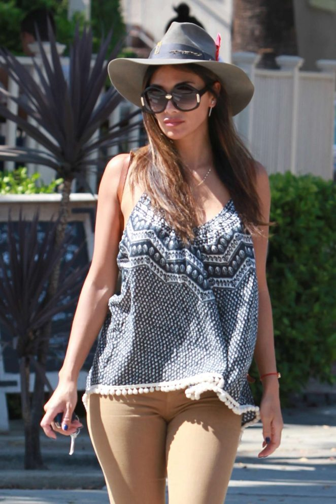 Nicole Scherzinger out in West Hollywood