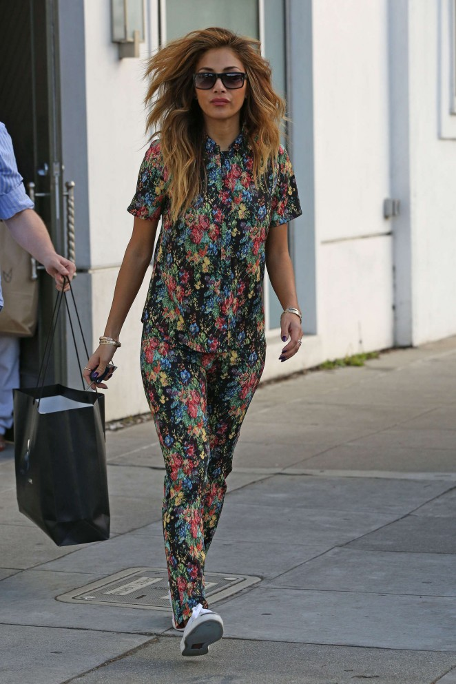 Nicole Scherzinger: Out in West Hollywood -01